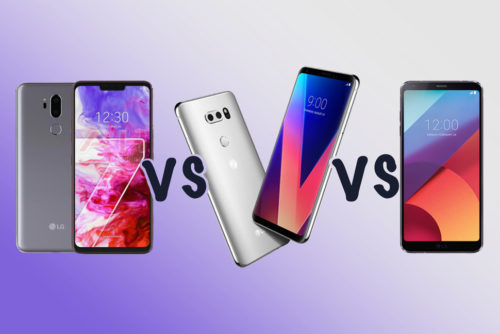 LG G7 ThinQ vs LG V30 vs LG G6: What's the rumoured difference?