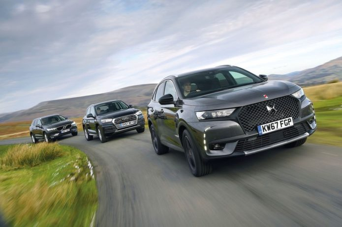 New DS 7 Crossback vs Audi Q5 vs Volvo XC60 Comparison