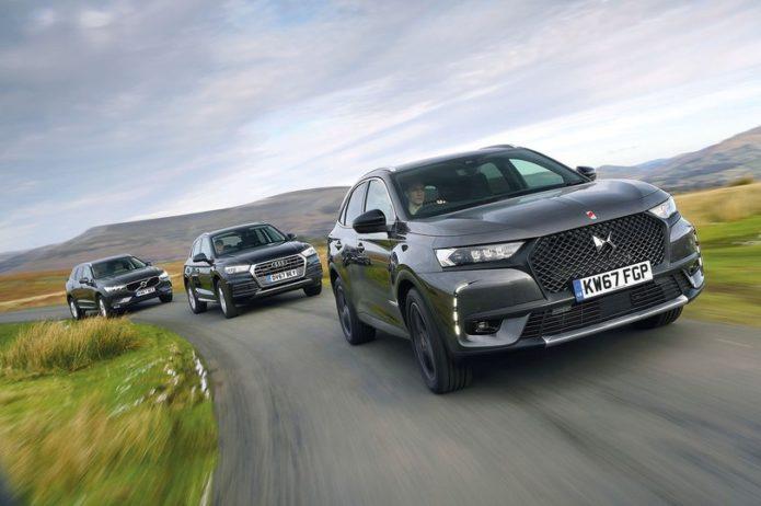 New DS 7 Crossback vs Audi Q5 vs Volvo XC60 Comparison