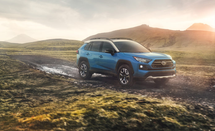 2019 toyota rav4 everything you need to know about the new model 2019 toyota rav4 rav4 hybrid official photos and publicscrutiny Images