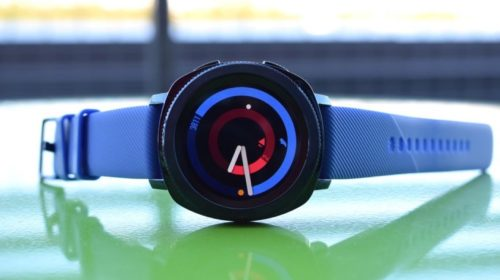 And finally: Samsung's interested in a smartwatch with an extended display