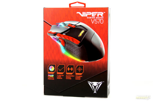 Patriot Viper V570 review: A capable and flexible gaming mouse