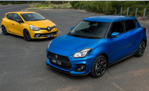 2018 Renault Clio RS Cup v Suzuki Swift Sport comparison