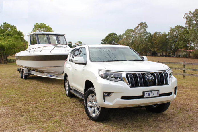 Toyota LandCruiser Prado 2018 Review : Tow Test