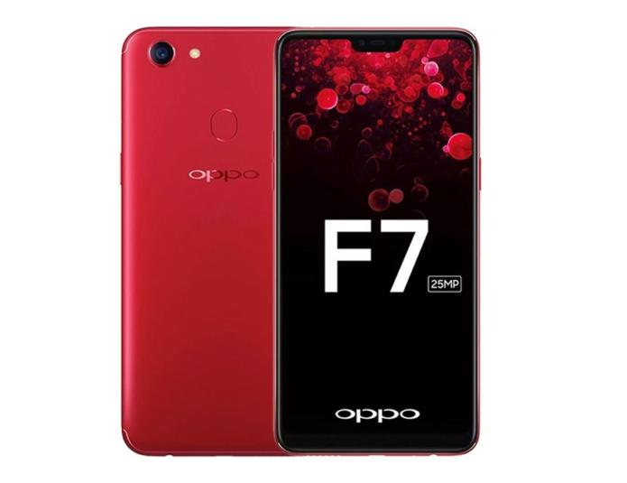 OPPO F7 vs OPPO F5 : Specs Comparison