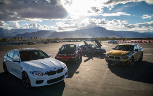 This is Track Day Heaven, BMW style: M5, X2, M4 CS, more
