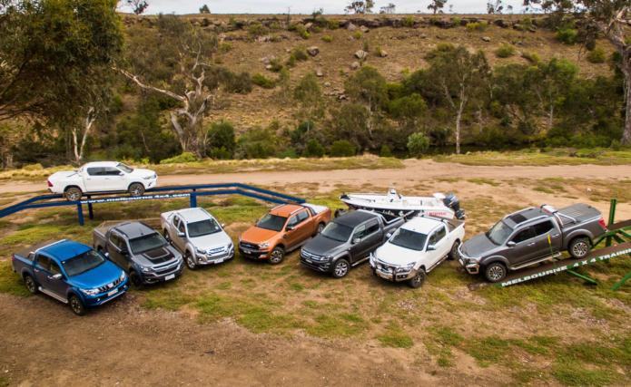 Ute Comparison 2018 Ford Ranger V Toyota Hilux V Mitsubishi Triton