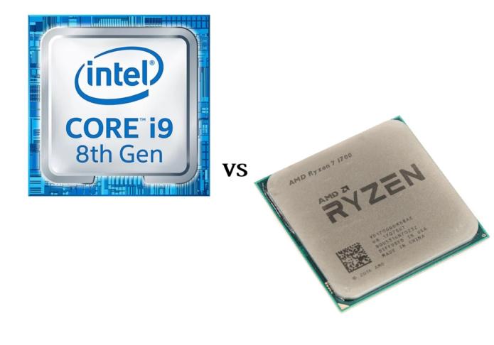 Intel Core i9-8950HK vs AMD Ryzen 7 1700 – benchmarks and performance comparison