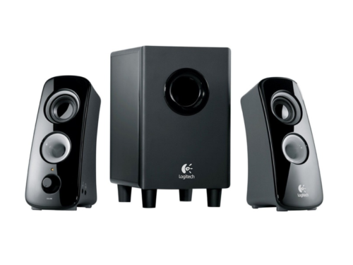 Logitech Z323 review: This 2.1 speaker system's boomy bass overwhelms room-filling sound