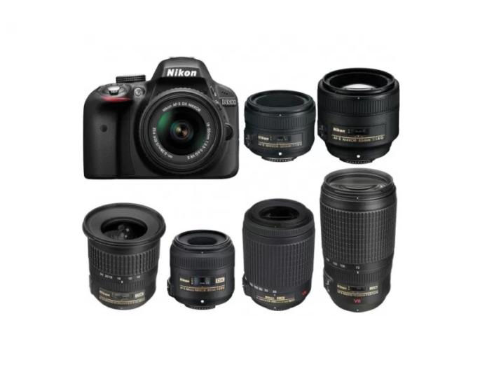 Best Lenses for Nikon D3300 DSLR camera