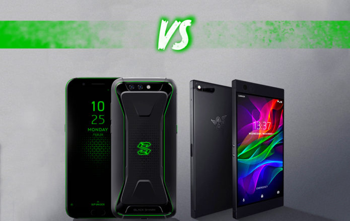 Xiaomi Black Shark vs Razer Phone: Gaming mobile specs fight