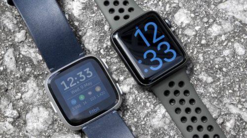 Apple Watch Series 3 v Fitbit Versa: Which stylish smartwatch is best?