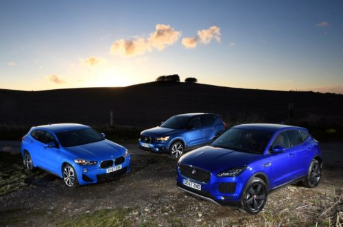 New BMW X2 & Jaguar E-Pace vs Volvo XC40 Comparison