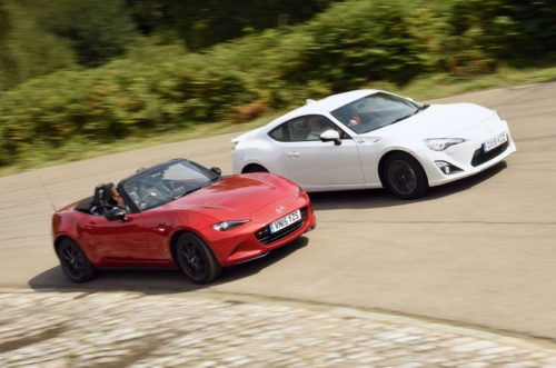Mazda MX-5 vs Toyota GT86 : Used test