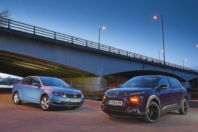 New Citroën C4 Cactus vs Skoda Octavia Comparison