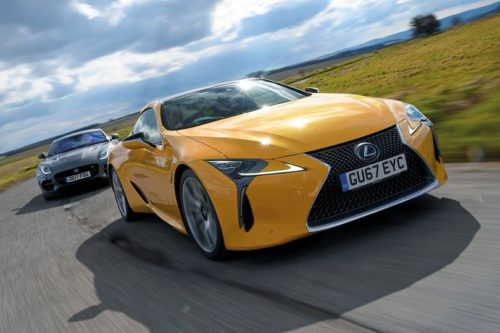 New Lexus LC vs Jaguar F-Type Comparison