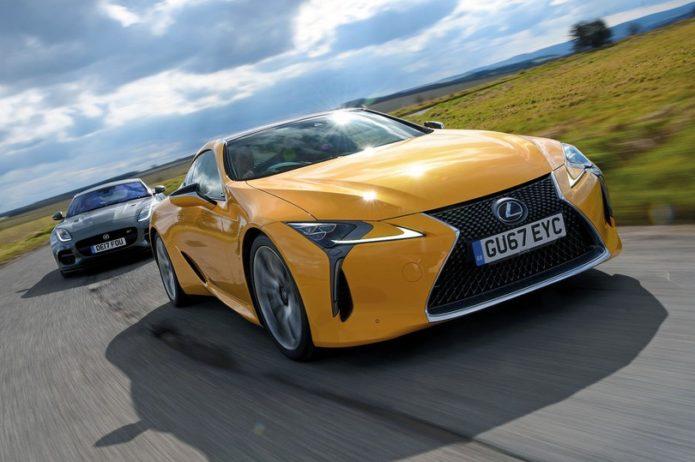 New Lexus LC vs Jaguar F-Type Comparison