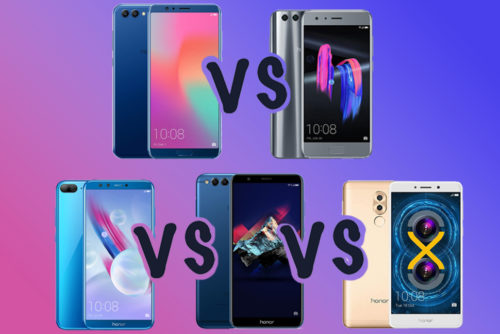 Honor View 10 vs Honor 9 vs Honor 9 Lite vs Honor 7X vs Honor 7C vs Honor 7A vs Honor 6X vs Honor 6A: Which is the right Honor phone for me?