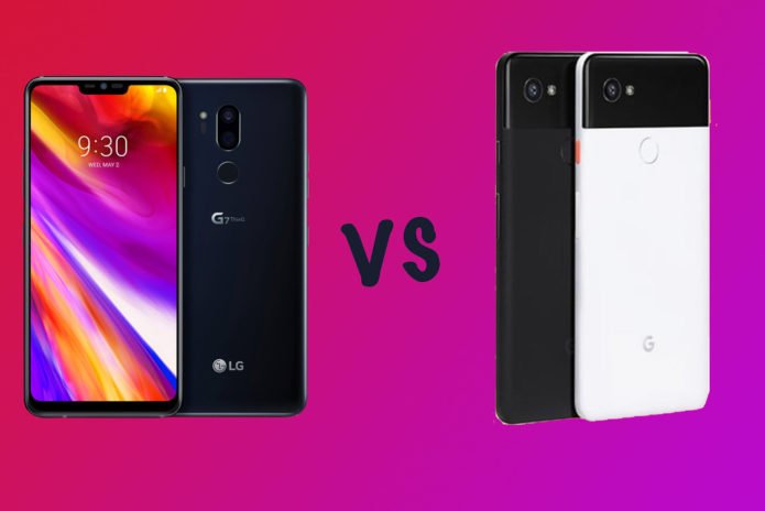 LG G7 ThinQ vs Google Pixel 2 XL: What's the difference ...