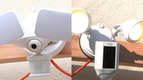 Ring Floodlight Cam vs Maximus Camera Floodlight Comparison