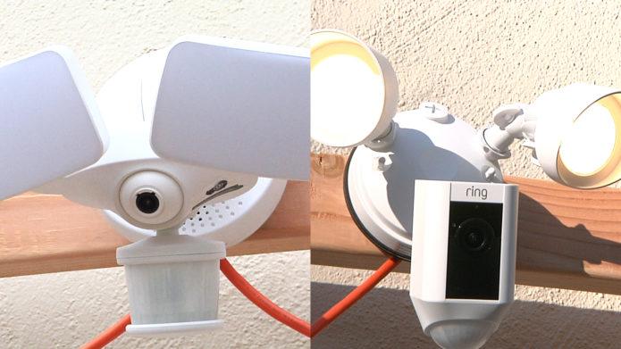 Ring Floodlight Cam vs Maximus Camera Floodlight Comparison