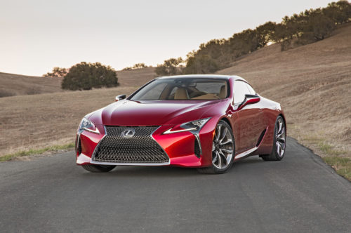 2018 Lexus LC 500 Review: A movie star for the road