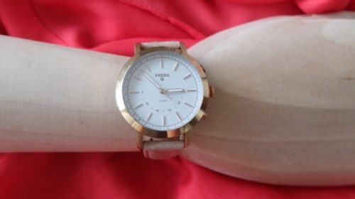 Fossil Q Neely review : A beautiful hybrid watch for small wrists