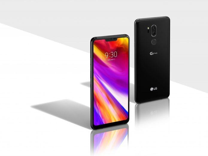 LG G7 ThinQ vs Huawei P20 specs comparison