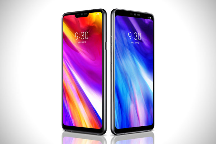 Huawei P20 Pro vs LG G7+ ThinQ specs comparison