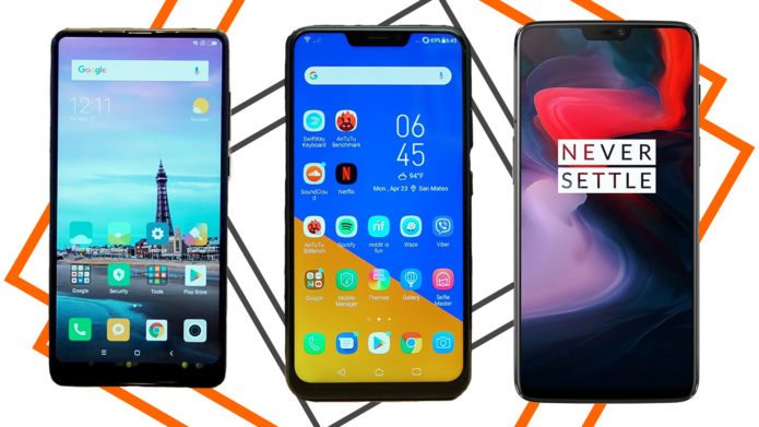 Affordable Flagship Comparo: OnePlus 6 VS ASUS ZenFone 5z VS Xiaomi Mi Mix 2s