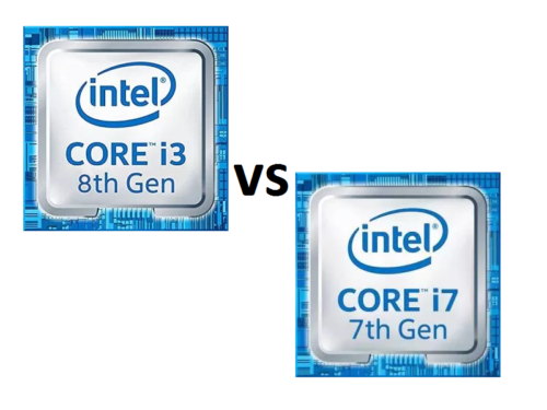 Intel Core i3-8130U vs Intel Core i7-7500U – benchmarks and performance comparison