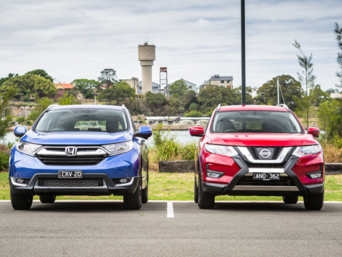 2018 Honda CR-V VTi-L v Nissan X-Trail ST-L Comparison : Two popular and well-equipped seven-seat midsizers face off