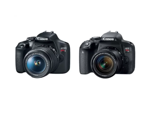 Canon Rebel T7 vs Canon T6 vs Canon T100 – Comparison