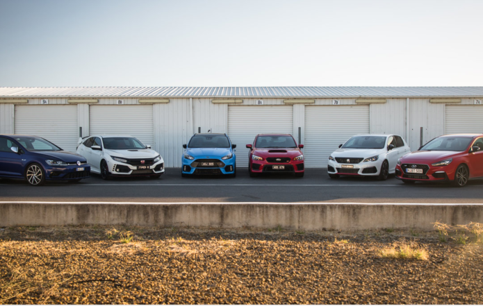 2018 Hot Hatch Mega Test Video: Track and performance