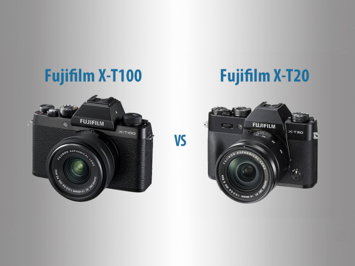 Fujifilm X-T100 vs X-T20 – The 10 Main Differences