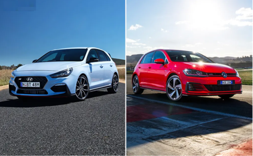 Hot hatch war heats up: 2019 VW Golf GTI v Hyundai i30 N