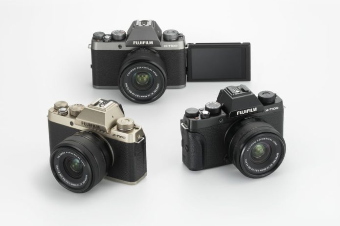 Fuji X-T100 - First Look & Review of Fuji's Mirrorless Digital Camera