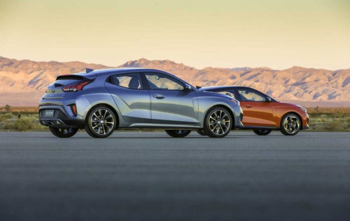 2019 Hyundai Veloster and Veloster Turbo are all-new