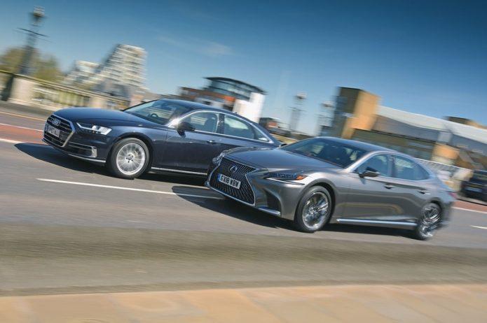 New Lexus LS vs Audi A8 Comparison