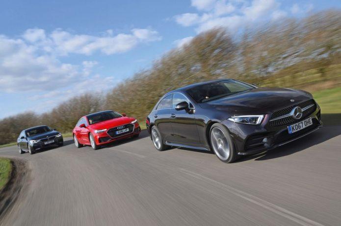 New Audi A7 Sportback & Mercedes-Benz CLS vs BMW 6 Series GT Comparison