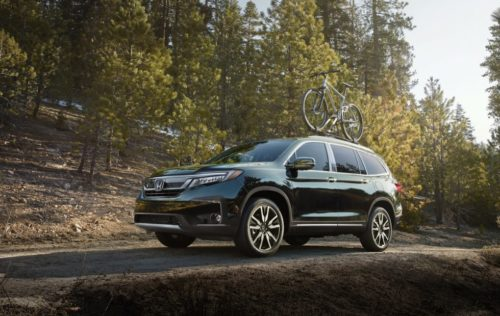 2019 Honda Pilot and HR-V load up on safety and cabin tech