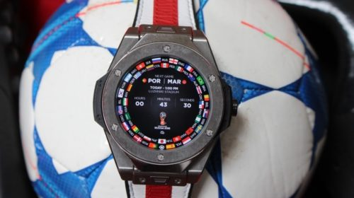 Hublot Big Bang Referee 2018 World Cup Russia review : This big, expensive Wear smartwatch scores with some clever football smarts