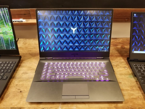 The Lenovo Legion Y730 gaming laptop has overclocking and RGB lighting to spare