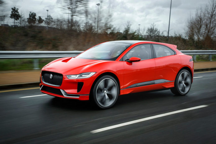 11 cool things about the Jaguar I-PACE