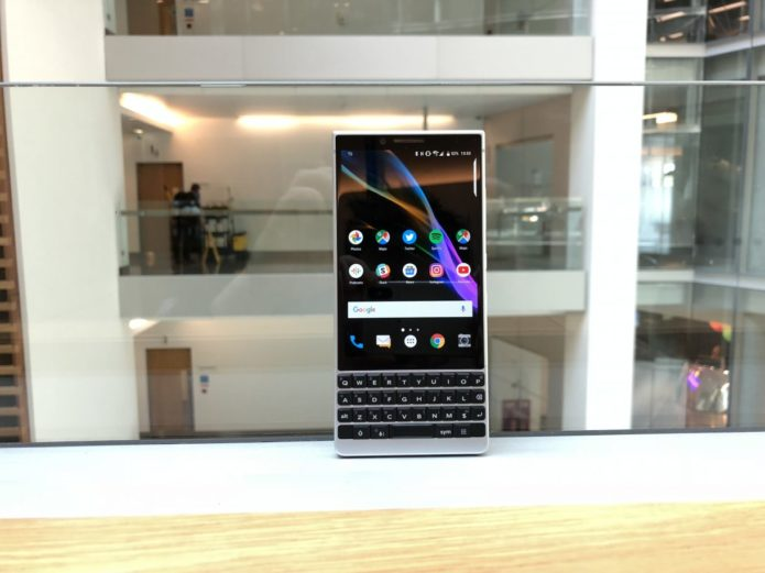 Blackberry Key2 review: The keyboard is back again