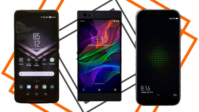 Gaming Phone Showdown: ASUS ROG Phone Vs. Xiaomi Black Shark Vs. Razer Phone