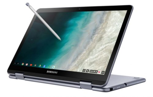 Samsung Chromebook Plus (V2) keeps the S-Pen and adds a second camera