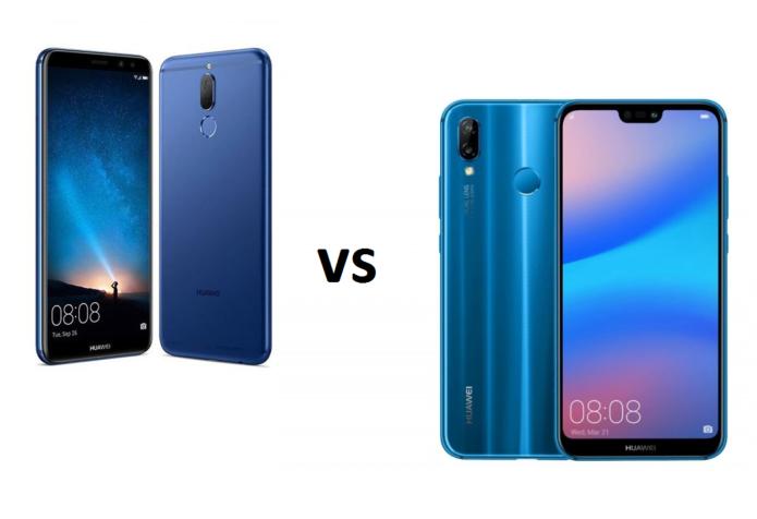 Huawei Nova 2i vs Huawei P20 Lite Specs Comparison