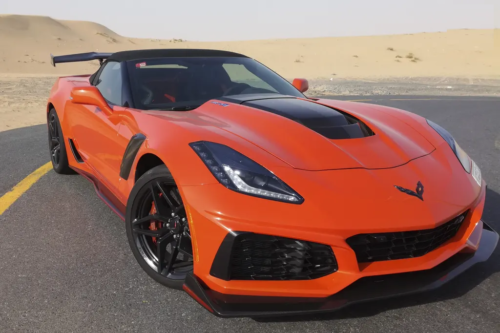 Chevrolet Corvette ZR1 Convertible 2018 Review : Road Test