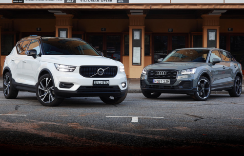 2018 Audi Q2 v Volvo XC40 Comparison : Two small, chic luxury crossovers out of Europe duke it out